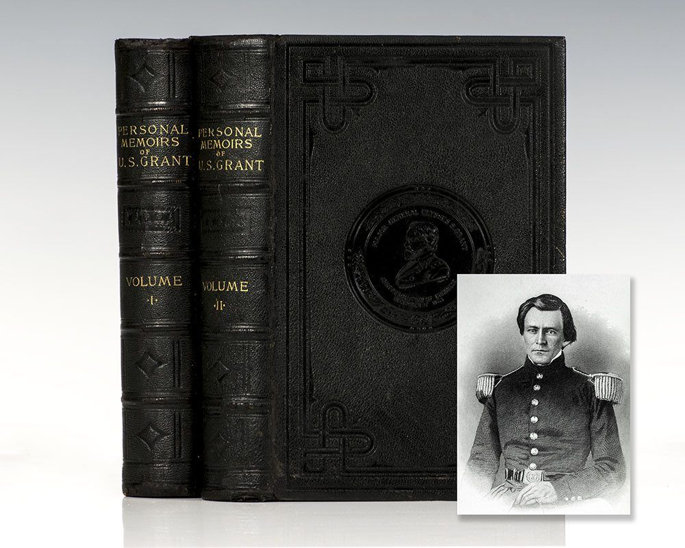 Personal memoirs of us grant first edition rare