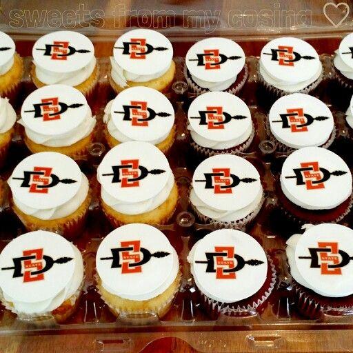 SDSU Cupcakes  | Sweets From My Cosina