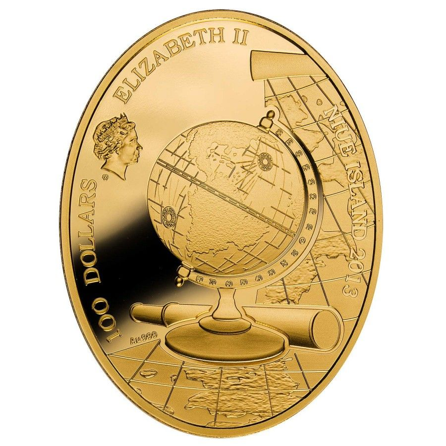 $100 Series 2013 | Niue Island Europe of Continents series 3 oz 2013 $100 Mint of Poland
