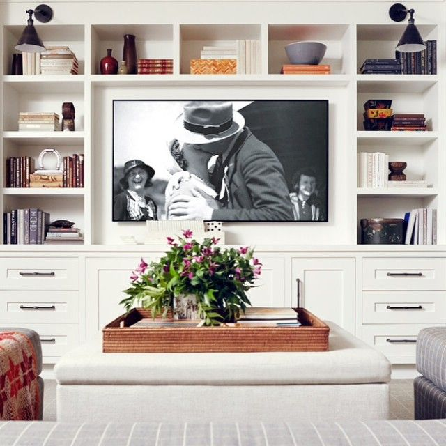 Best 25+ Built In Tv Wall Unit Ideas On Pinterest