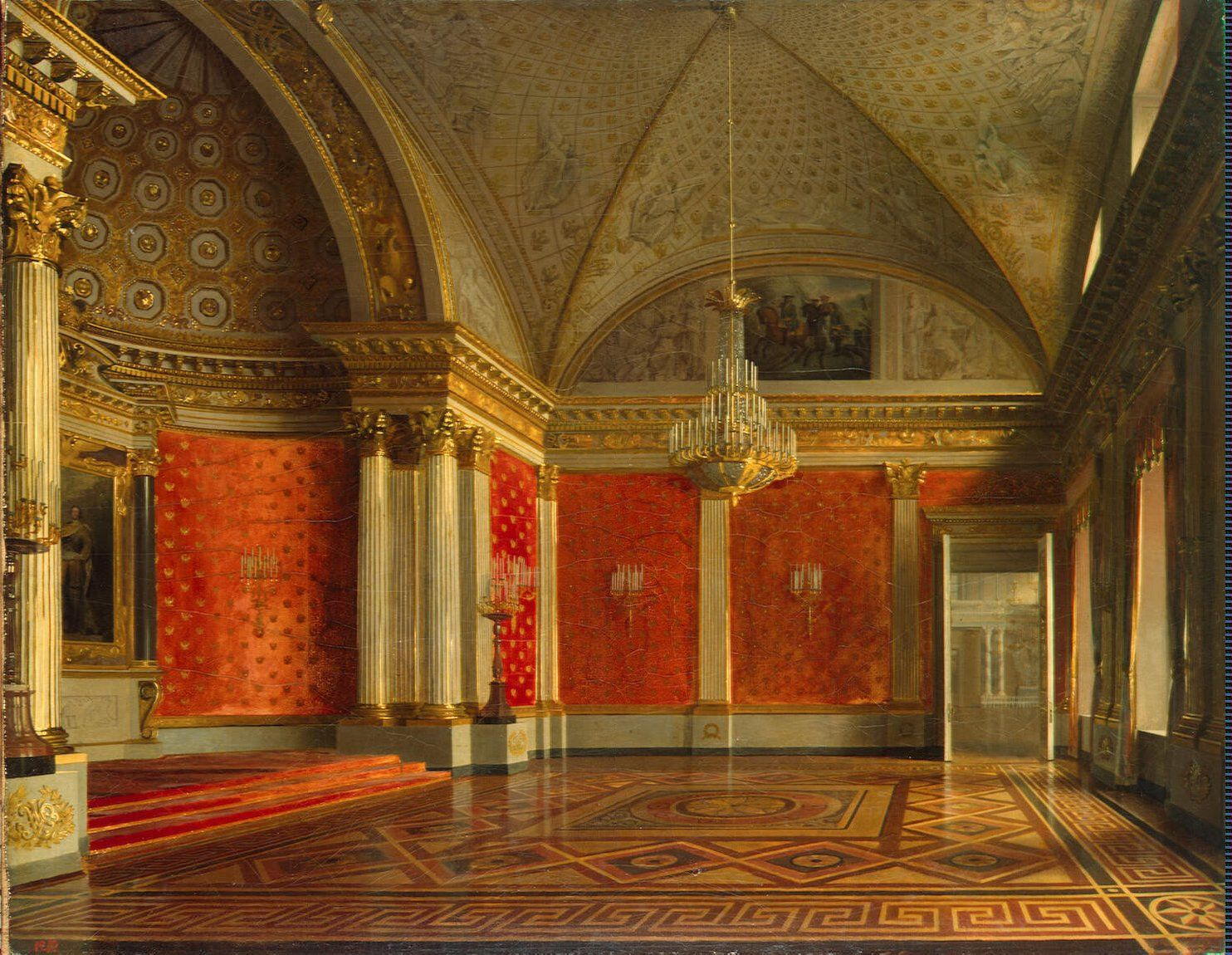 Zaryanko Sergei Konstantinovich Interiors Of The Winter