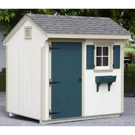 lancaster county barns 8 x 6 ft quaker storage shed walmartcom 2999