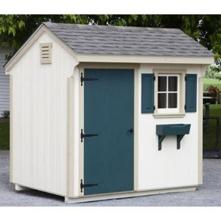 Beau Lancaster County Barns 8 X 6 Ft. Quaker Storage Shed   Walmart.com $2999