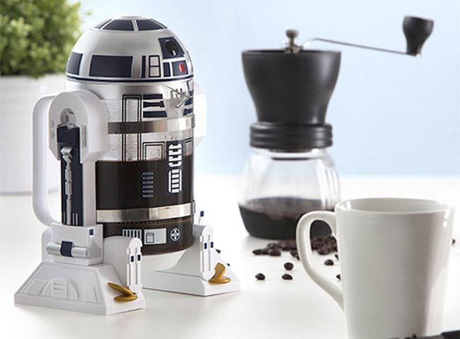 O despertar da força! Cafeteira do R2-D2