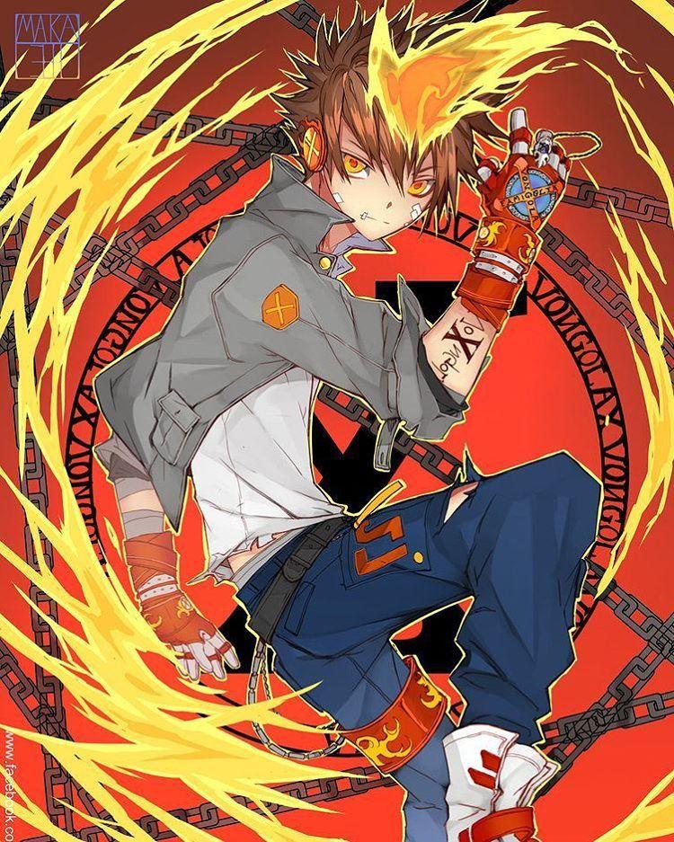 tsuna #reborn #fanart #anime #manga #art