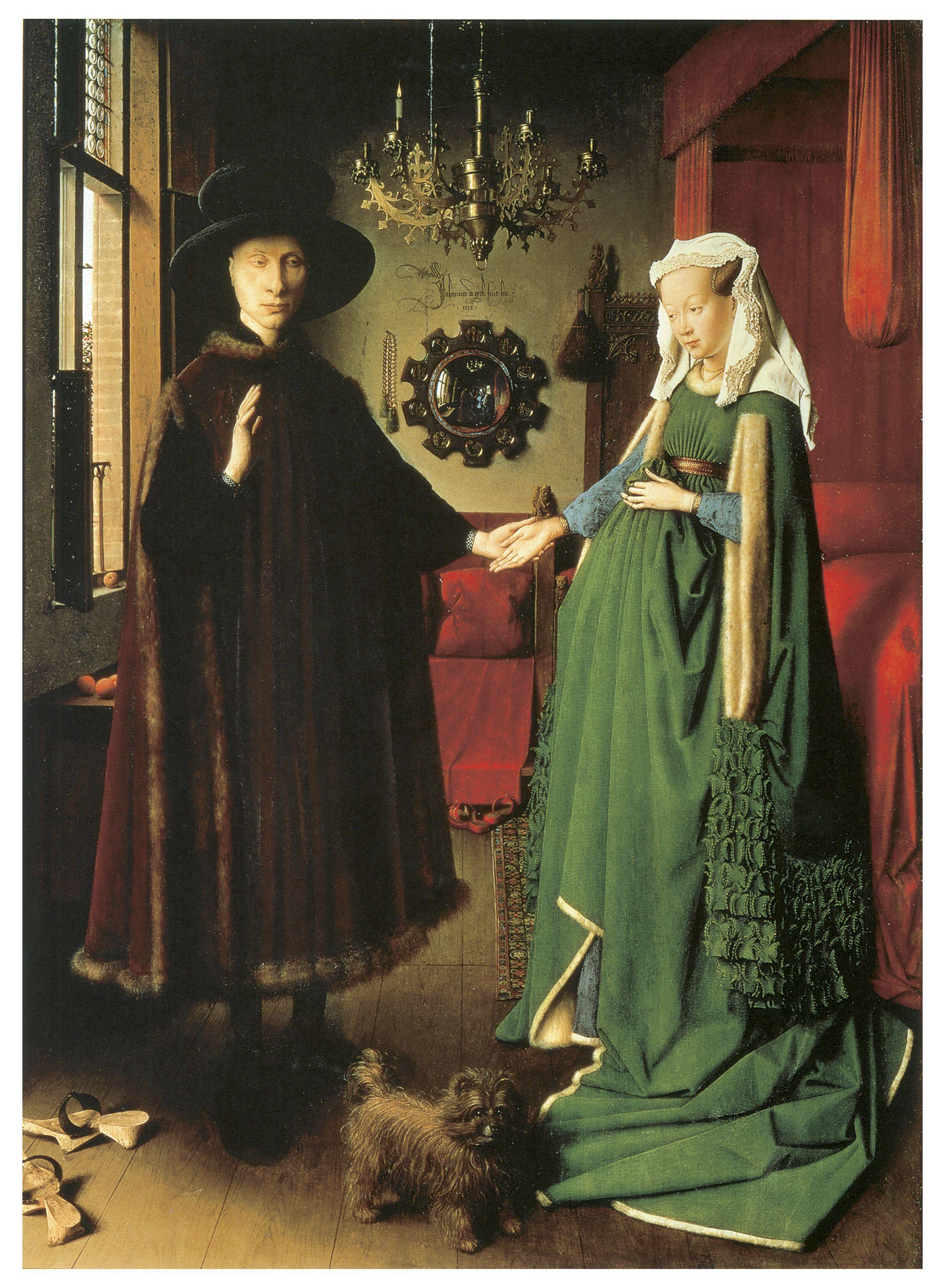 Jan Van Eyck The Arnolfini Wedding