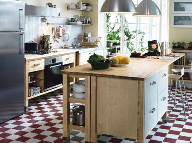 Cuisines comme la campagne cuisine moderne cuisine - Meuble cuisine inox ikea ...