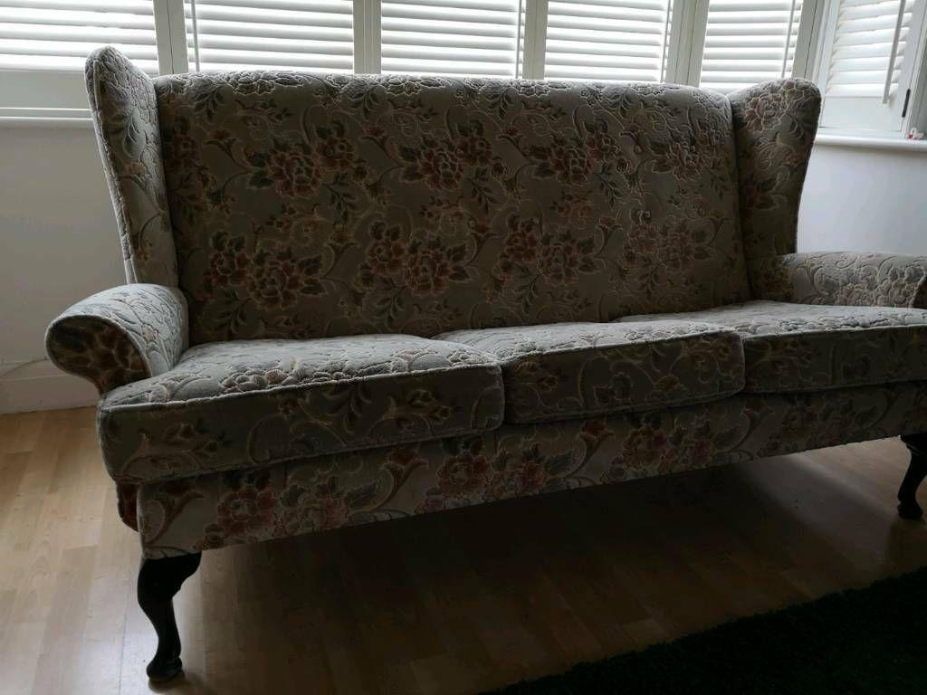 Queen Anne Sofa In Westcliff On Sea Essex Gumtree Sofa Home Decor Furniture