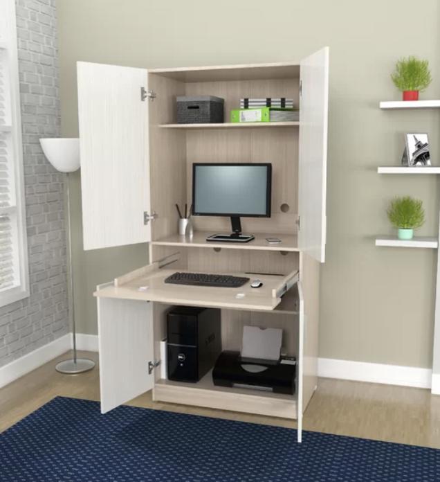Bluxome Armoire Desk Desk In Living Room Home Office Design Armoire Desk