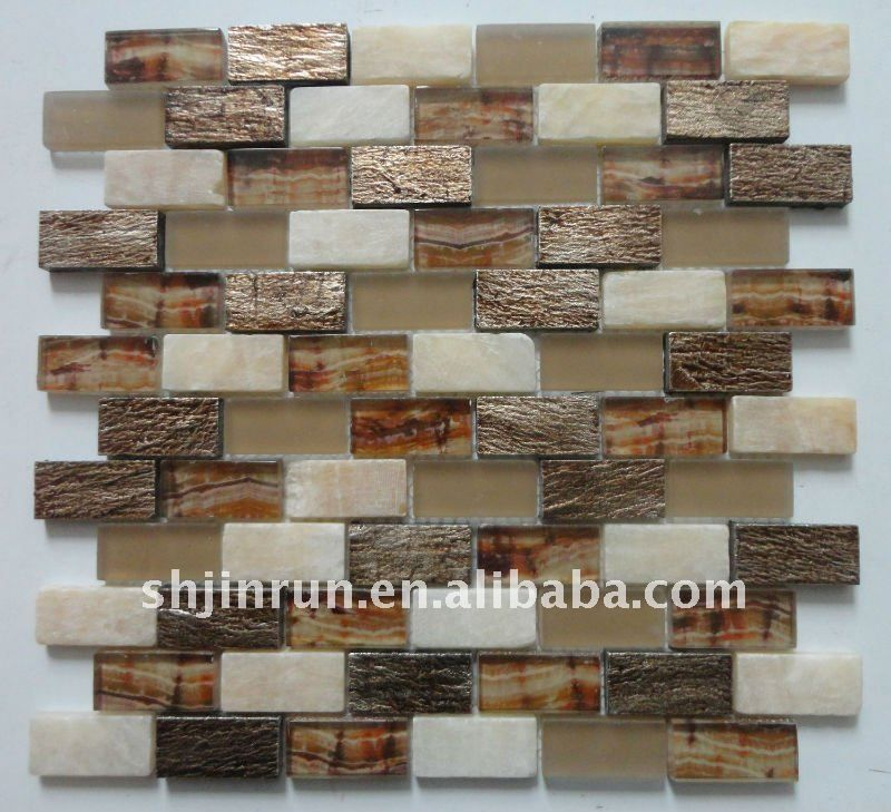 Glass Stone Mosaic Wall Tile - Buy Mosaic Tile,New Style Mosaic ...
