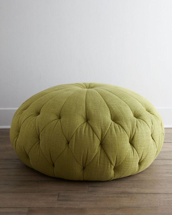 Awe Inspiring The Singer Green Pouf Ottoman Pouf Ottoman Ottoman Caraccident5 Cool Chair Designs And Ideas Caraccident5Info