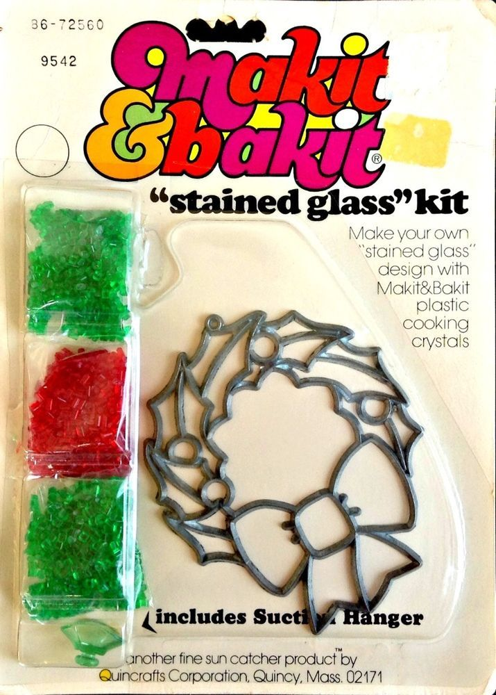 26++ Christmas stained glass craft kit information
