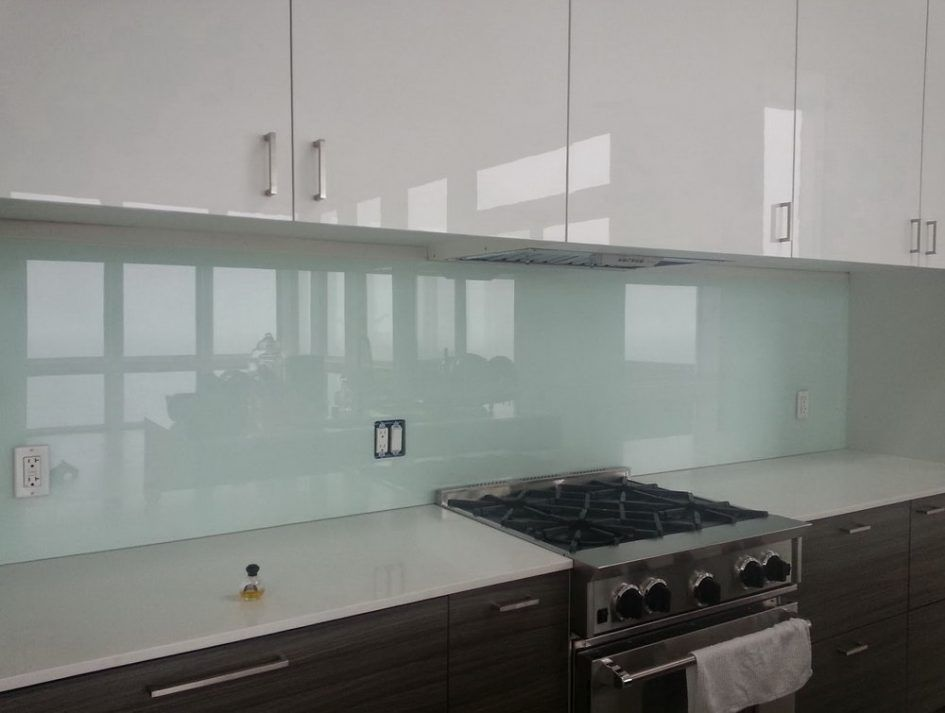Kitchen Design Soft Green Temperred Kitchen Backsplash Glass Long