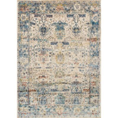 Loloi Anastasia 7 10 X 10 10 Area Rug In Sand Blue Light