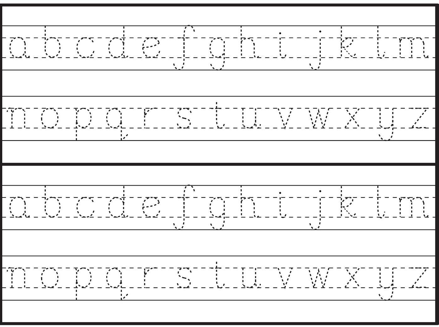 51 Alphabet Worksheets For Grade 1 In