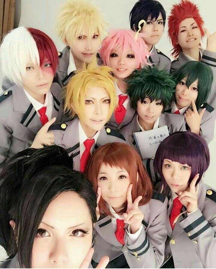 Photo of Boku no hero academia cosplay