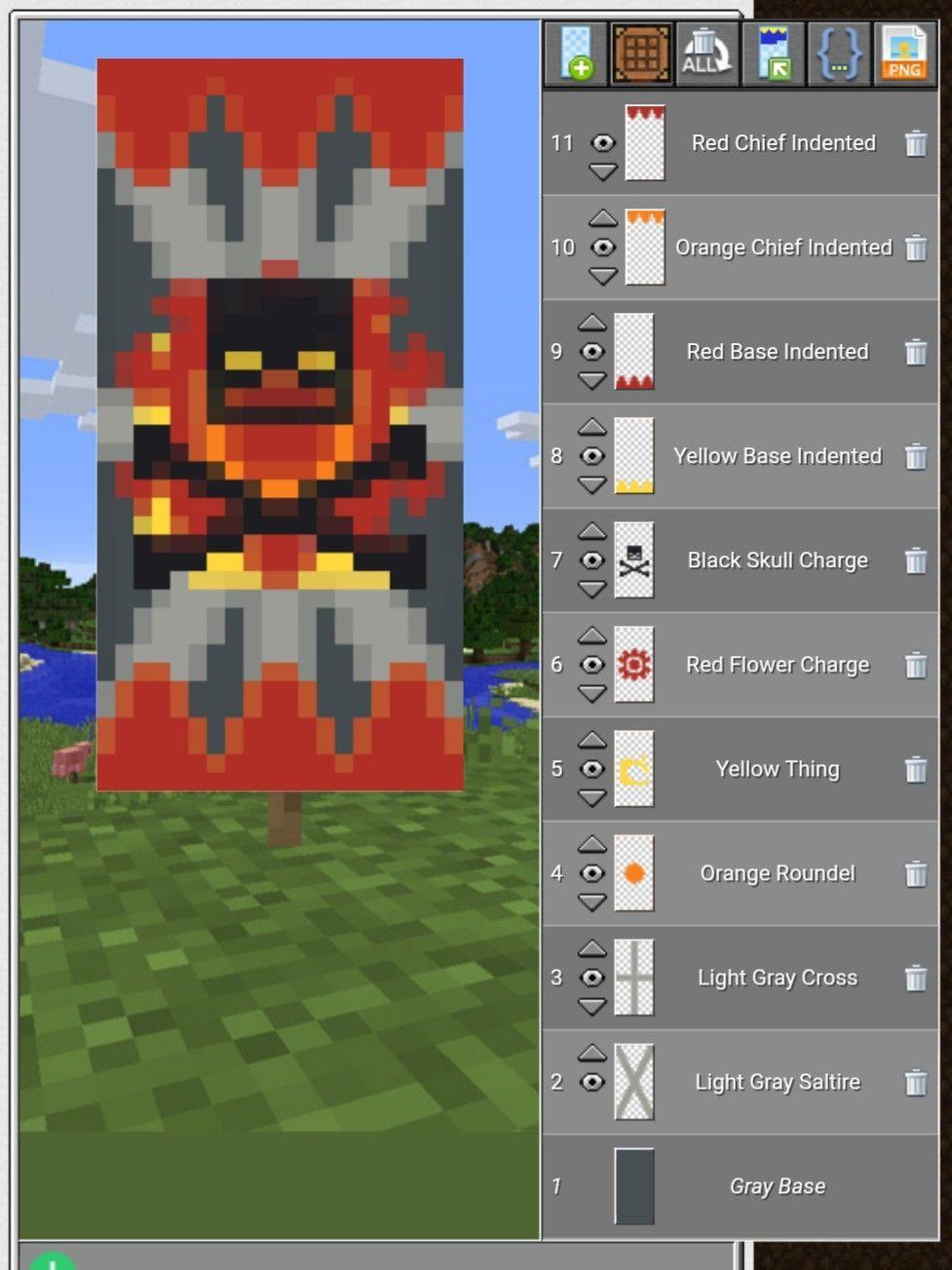 Minecraftenderman Minecraft Banner Designs Minecraft Banner Patterns Minecraft Projects