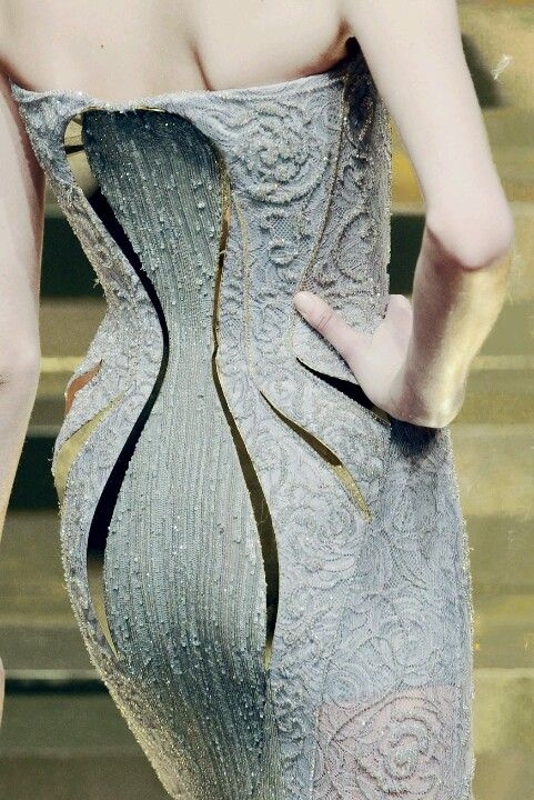Versace S/S 2012 Couture Details