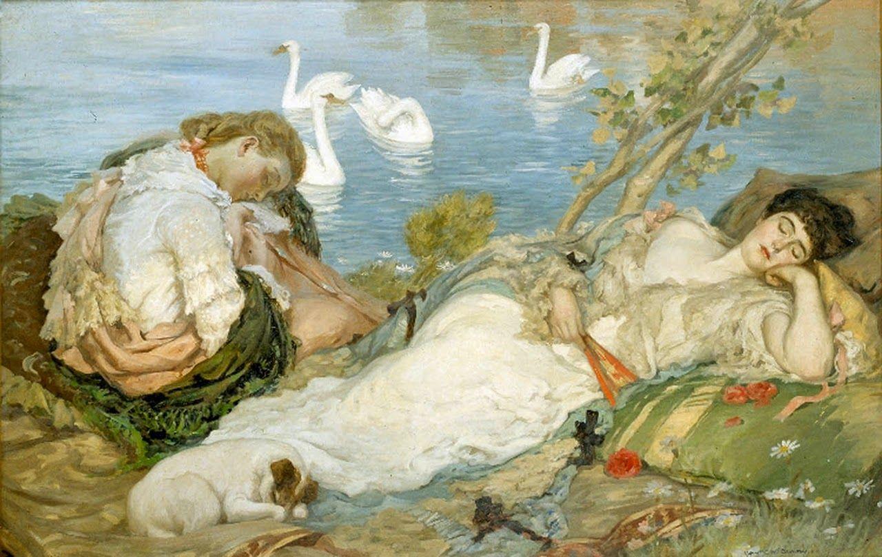 Rupert Bunny ~ Colorist/symbolist painter | Tutt'Art@ | Pittura * Scultura * Poesia * Musica |