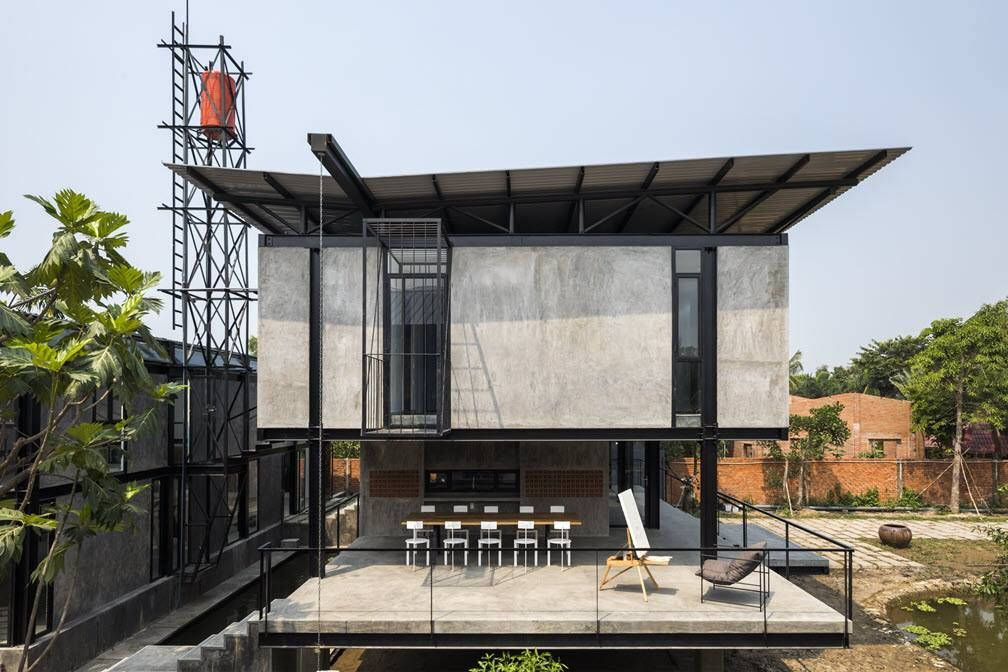 Pin By Ha Nam Nguyen On Architecture Steel Wood
