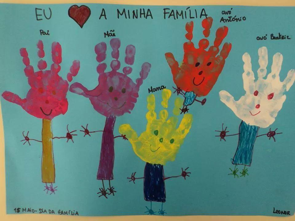 Familia Projeto Familia Educacao Infantil Artesanato Da