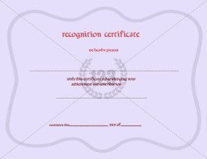 Recognition certificate template certificate templates certify your awesome employees with a special recognition certificate template as a great certificate towards their apreciable hard work to achieve the goal yelopaper Images