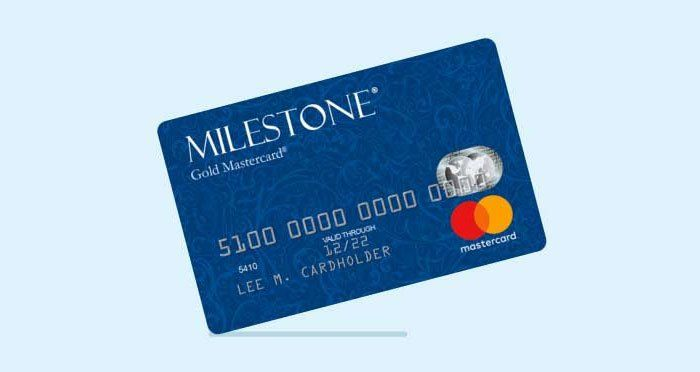 Milestone Credit Card In 2020 Business Protection Unsecured
