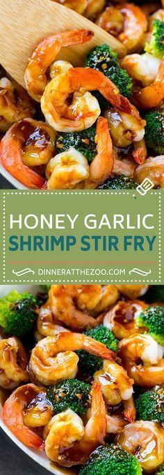 Honey Garlic Shrimp Stir Fry Recipe | Shrimp and Broccoli | Shrimp and Broccoli Stir Fry | Shrimp Stir Fry | Healthy Shrimp Recipe #stirfryshrimp