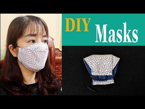 Photo of How to sew a simple 3D mask | Tự may khẩu trang đơn giản | ART Thao162