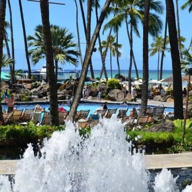 Hilton Hawaii Village Waikiki beach Honolulu Hawaii