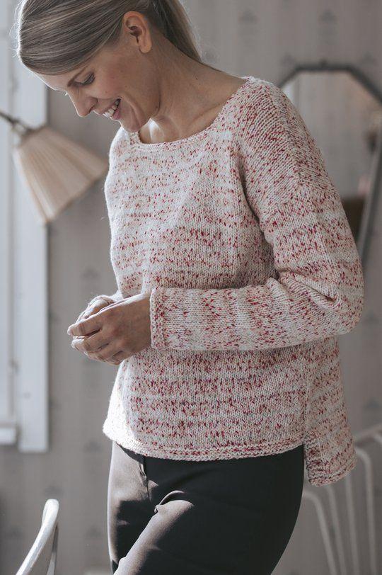 Arctic Raspberry sweater Novita Baby Merino and Baby ...