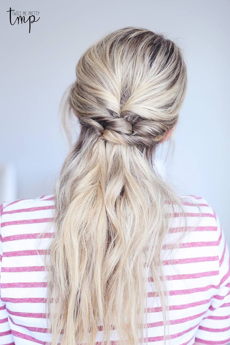 These hairstyles for spring are not only gorgeous but quick and