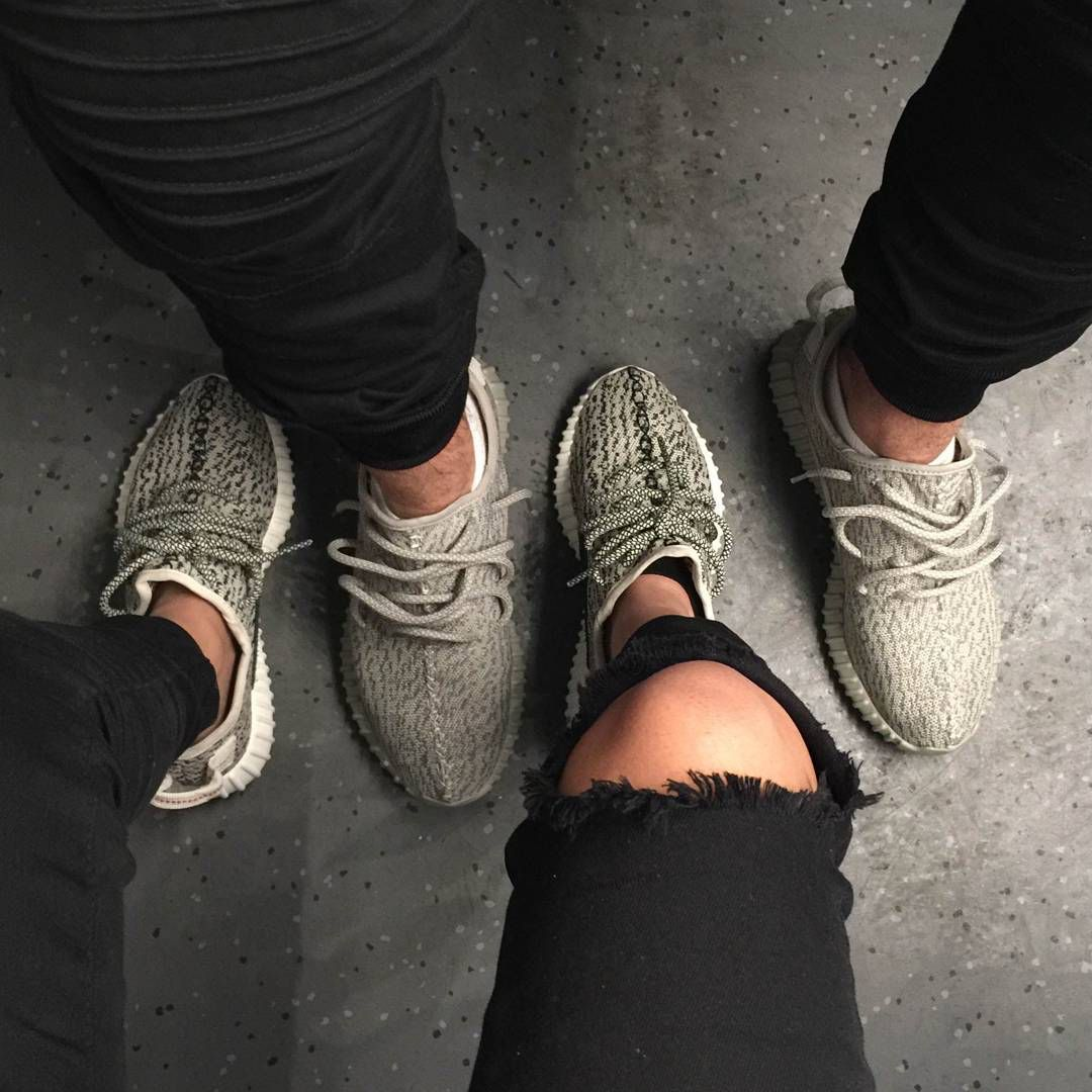 His And Her Yeezy Couple Sneakers Matching Shoes For Couples