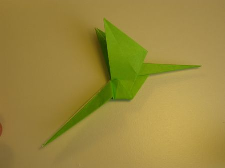 Making The Neck Of The Origami Dragon 3 Origami Pinterest