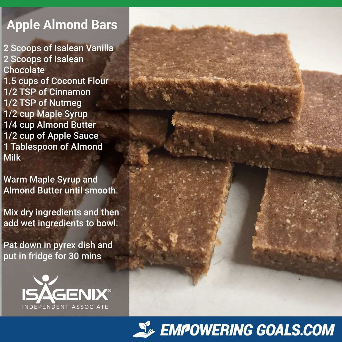 Isagenix Snacks on Cleanse Days - Reviews & Nutritional ...