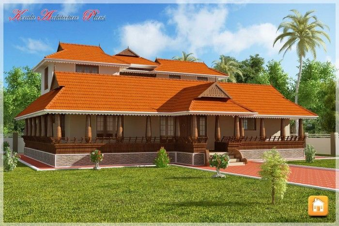 Beautiful traditional nalukettu model kerala house plan for Kerala new model house