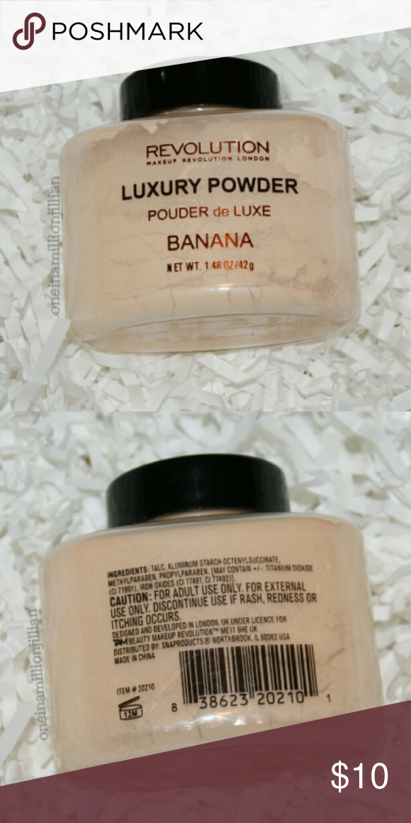 Selling this 🎀 Makeup Revolution Luxury Banana Powder on