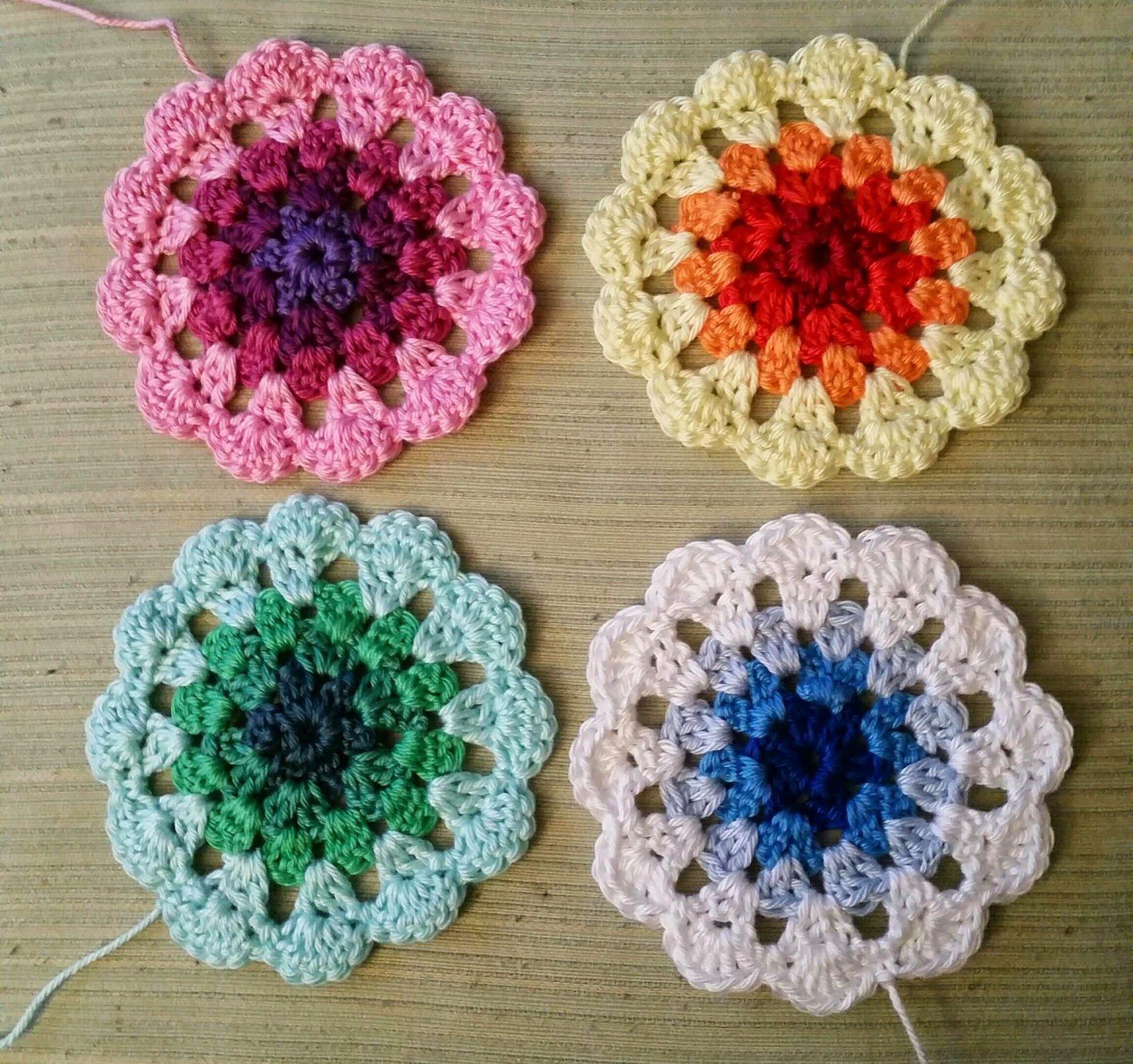 My world of crochet: Und noch mehr Deko für das Küchenfenster ...