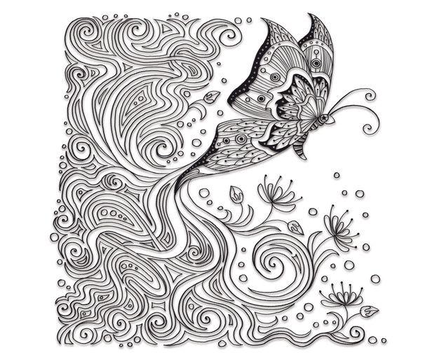 Pin von alene marchant auf butterfly art | Pinterest | Kalender und ...
