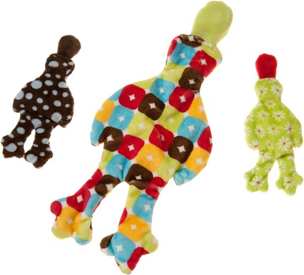 Floppy Flat And Fabulous The Stuffing Free Floppy Quack Dog Toy