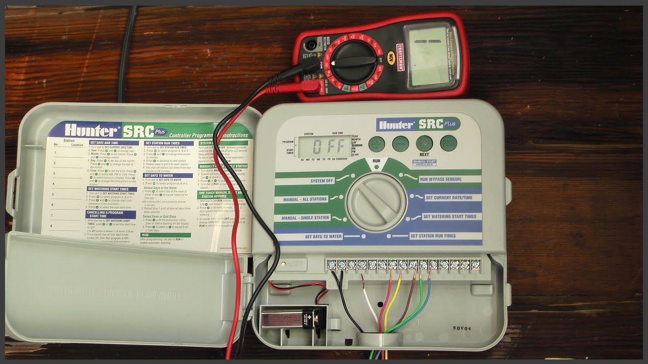 Testing Sprinkler System Wiring Sprinkler System Diy Sprinkler System Sprinkler
