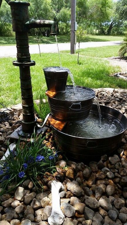 46 Awesome DIY Water Feature Ideas for Your Garden | Water features ...