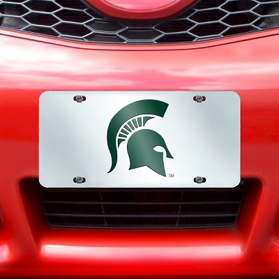 NCAA Acrylic Inlaid License Plate Frame Michigan State University ...
