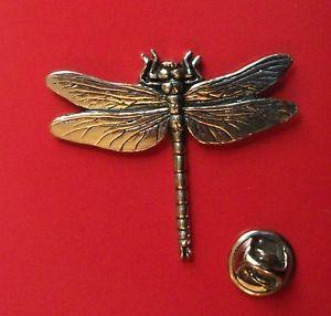 Dragonfly English Pewter Lapel Pin Badge XTSPBC03