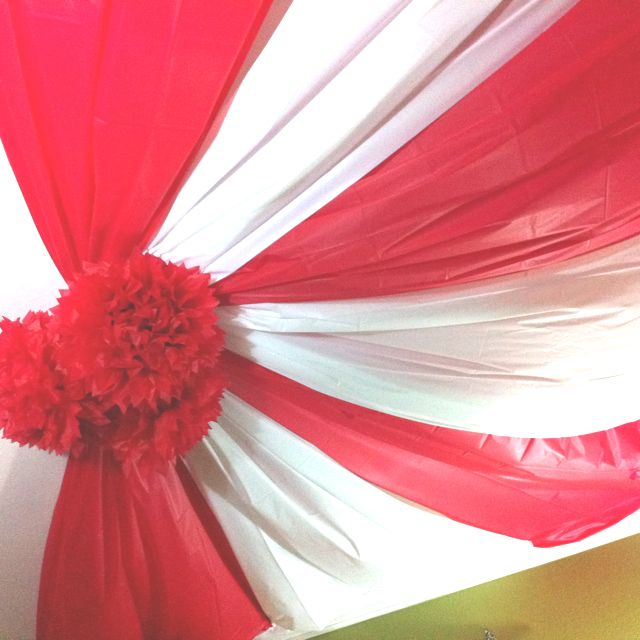 DIY indoor circus tent & DIY indoor circus tent | VBS | Pinterest | Tents Room and Carnival