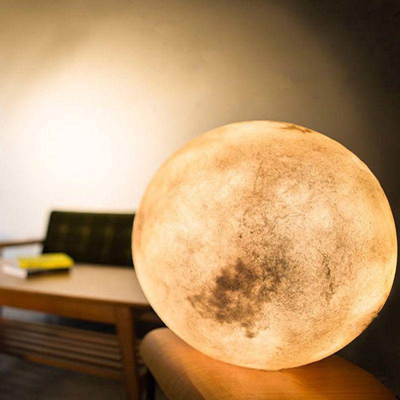 Luna, sua iluminária lua particular Luminárias e velas Luminária, Quartos e Luzes