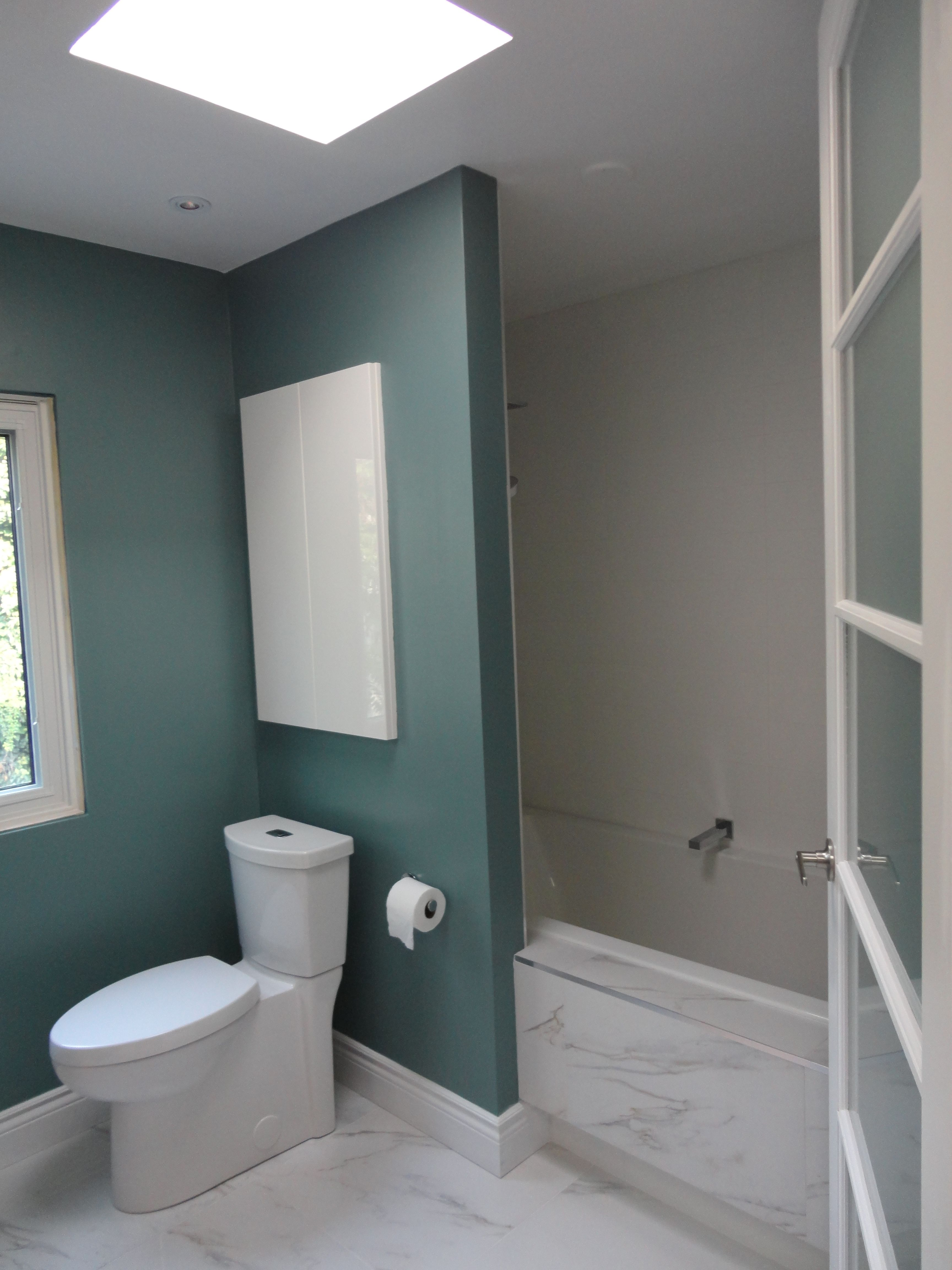 Perfect Townhouse Bathroom Expansion From 4x8 To 8x12