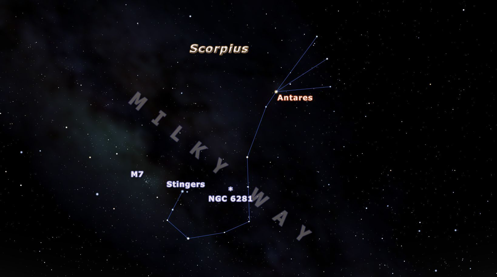 How To Spot The Scorpius Constellation Constellations Stargazing Constellations In The Sky [ 912 x 1638 Pixel ]