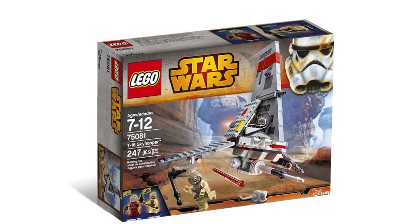 LEGO.com Star Wars Products - Episodes I-VI - 75081 T-16 Skyhopper™