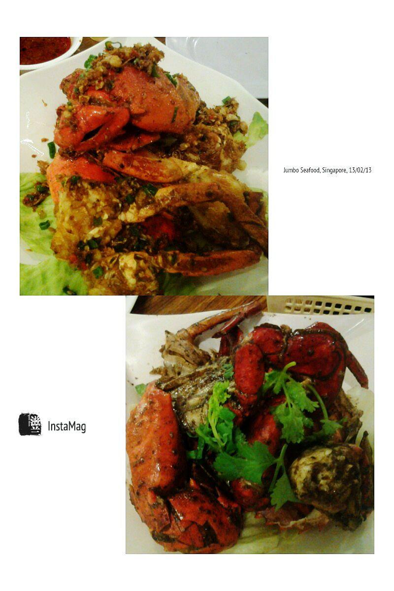 #SingaporeanFood #FD1302  姜葱螃蟹、黑胡椒螃蟹